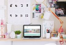Workspace / Pretty places make for pretty work! / by Stephanie Bryan