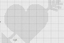 free valentine cross stitch patterns