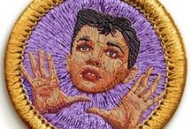 Patches / Machine embroidery ain't a patch on this stuff! / by Mr X Stitch