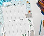 Geschenk Ideen / Schönes zum Verschenken.  Papierliebe als Geschenk - Kalender, Kunstdrucke, schöne illustrierte Karten