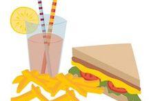 FOOD Snacks / Schnelle, leckere Snacks. Finger food und Party Tipps