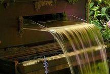 Garden Fountains & Ponds