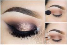 MAKEUP INSPIRATION / Looks that inspire me for future school projects and clients. My passion, obsession & addiction