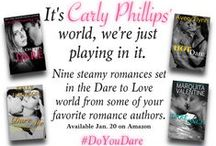 Dare to Love Kindle World / Books set in the Dare to Love series / by Carly Phillips, NYT Bestselling Romance Author