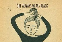 Always black