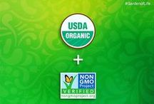 Choose Organic / The leader in dual certification: Certified USDA Organic & Non-GMO Project Verified.