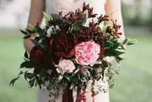 Berry & Wine Wedding Inspiration / Wedding inspiration based on Marsala, the 2015 Pantone Color of the Year.