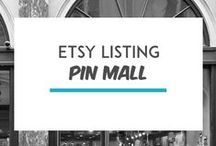 Etsy Pin Mall / The Etsy Pin Mall was made to showcase your Etsy Listings.  To become a contributor please email me at info@iselaespana.com with your request and info. Only 3 pins max a day.  All non-listing pins will be deleted.