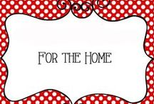 For the Home / Collection of Ideas For the Home, home decor, decorations, tips and tricks, wall hangings, furniture, etc