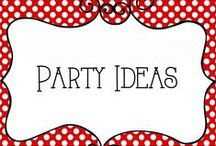 Party Ideas / All things Party - Ideas for decorations, food, games, themes, and more