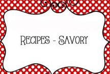 Recipes to Try / Recipes for dinner and snacks, savory