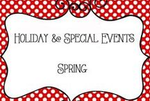 Holidays - Spring / Holidays and Special Events - Spring, Seasonal Decorations, Home Decor, Crafts, Flowers
