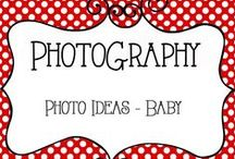 Photo Ideas - Baby / Photography, Photo Ideas for Baby Portraits, Newborn, Infant, Poses and Tips