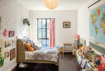 Kids rooms and playroom inspiration / by Jennifer