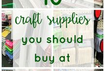 """Craft Ideas & DIY Projects / I'm not really what one would call """"craftsy"""", but pinterest makes me think I am!"""