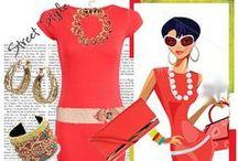 My Style / My fashion - fun, breezy, glitter, short,