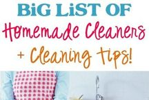 organizing & cleaning tips  / Great tips and ideas for organizing and cleaning. / by Kathy Cash