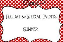 Holidays - Summer / Holidays and Special Events - Summer, Fun Ideas for the Kids, Family Fun, Seasons, Home Decor, Decorations