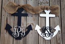 ⚓ Anchors Aweigh ⚓ / by Kristi Ray