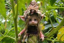 "Fairies, pixies, trolls, gnomes, elves, angels, pixies, mermaids and magic! / Tiny garden friends that bring a smile and magic to your yard. This board includes creatures and their habitats.  My other board ""Miniature Madness"" includes furnishings, food, tutorials and accessories.  / by Kathy Cash"