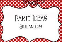 Party - Skylanders / Skylanders Birthday Party Ideas, decorations, invitations, crafts, activities, food, and more