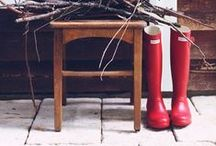 Hunter / I'm a fan & I cannot imagine life without these gorgeous, practical boots.