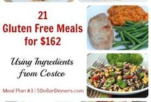 Plan #3: 21 GF Meals for $162 / Our very popular Costco meal plans just got better with this latest one featuring all Gluten Free recipes!  Check it out on 5DollarDinners.com / by $5 Dinners {Erin Chase}