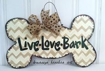 Front Door Decor / by Kristi Ray