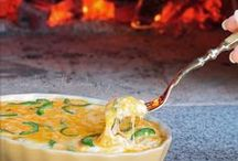 Wood Fired Oven Recipes / Recipes that can be made in a wood fired oven. Pizza, Bread, Casseroles, vegetables, meat, desserts.