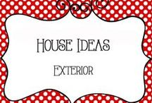 House Ideas - Exterior / House Ideas for the Exterior of the home
