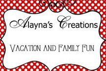 Creations - Vacation / Creative ideas for vacation and family fun, destinations, tips, tricks, games and other ideas
