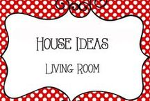 House Ideas - Living Room / House Ideas for the Living room and family room including decor, furniture, fireplace ideas, etc