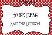 House Ideas - Kaitlyn Bedroom / Decor ideas for Kaitlyn, preteen girl, crafts and organization