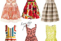 Dress Me Pretty / Dresses I like, want, or just think are pretty!