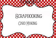 Scrapbooking - Cards / Card Making, scrapbooking, memory keeping  - ideas for gift cards, birthday cards, holiday cards, and more
