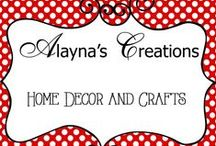 Creations - Home Decor / Ideas and Tutorials for Home Decor and Decorating Projects, Crafts, DIY