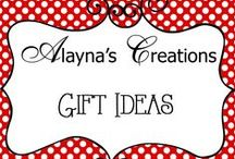 Creations - gift ideas / Gift ideas for all occasions:  birthday, Mother's Day, Father's Day, Christmas, Valentines, Teacher Appreciation, Just Because, Gift Baskets