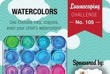 Challenge #105: Watercolors