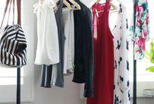 Armarioless / Soluciones a una habitación sin armario.