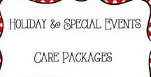 Care Packages / Care Packages - ideas for deployment, holidays, gift baskets