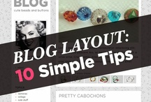 Blogging Resources / Tips, tricks & tutorials + freebies related to blogging.