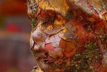 Beautiful Death / Beautiful and unusual cemetery statuary  / by Christine Haden