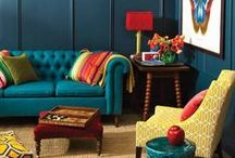 colour inspiration / a celebration of colours and combinations that make me happy