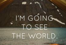Travel Quotes / Inspiration and words of wisdom to get out there and see the world!