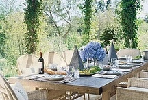 Outdoor dining / by Donna Comi