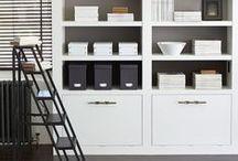 storage ideas / ingenious and fabulous ways of keeping things organised