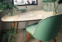 home office ideas / working from home should never be dull, ugly or uninspiring.