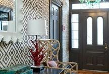 hallways and entryways / hallways, corridors, entry ways - whatever you call them, here are some gorgeous ones.