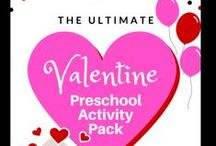 Valentines Day / Cute ideas for Valentine's Day. Valentine's day crafts, recipes, treats, snacks, printables, and more! Valentines for kids, toddler crafts, preschool activity packs, and family fun.