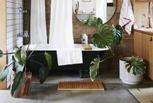 bathroom ideas / bathrooms you'd never want to leave